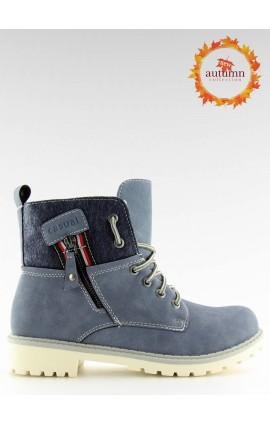 šilti batai  GD-TL10m mėlyni