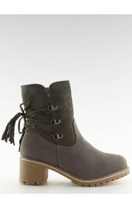 auliniai batai ant kulno  NC726p pilki