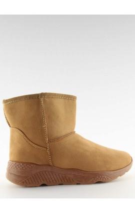 žieminiai šilti batai  D009r rudi