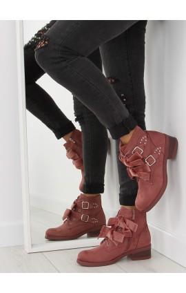 Moteriški auliniai batai C-7101r rožiniai