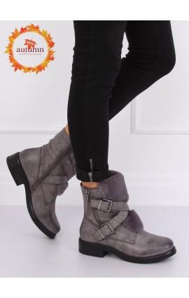 Auliniai batai  1061A-PAp pilki