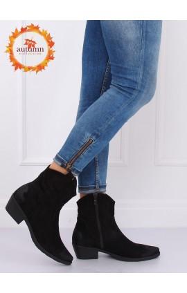 Kaubojiško stiliaus batai NC970Pj juodi