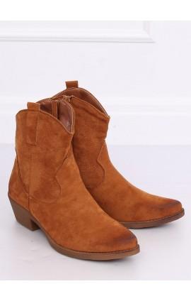 Kaubojiško stiliaus batai l NC970Pr rudi