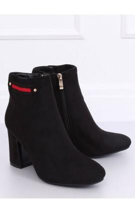 AUliniai batai ant kulno  B8982j juodi