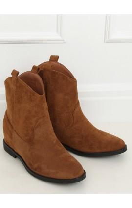 Kaubojiško tipo auliniai batai J936r rudi