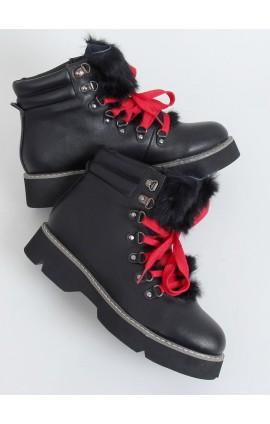 Šilti auliniai batai 3142j juodi