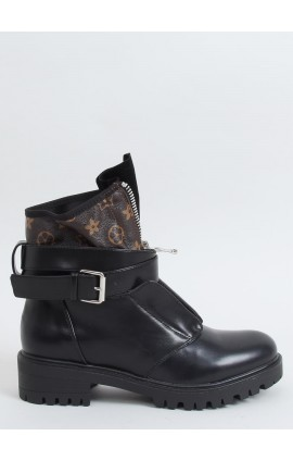 Stilingi auliniai batai  NC1053j juodi