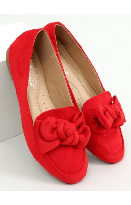 Mokasinai  88-382r raudoni