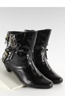 Ilgaauliai batai   5196-3Vj juodi